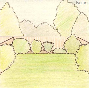 Дизайн маленького участка