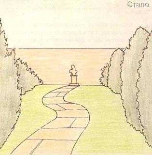 Дизайн дорожки в саду