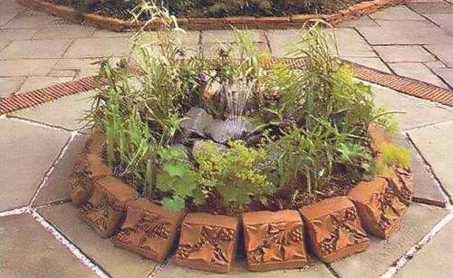 Мощеный сад