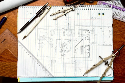 Рисуем проект сада