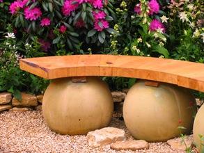 Скамейка для японского садика