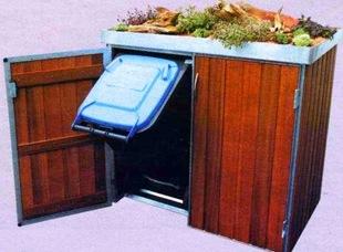 Шкафы для мусорных баков