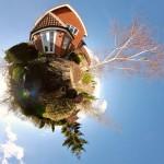 Как зрительно увеличить сад с помощью иллюзий