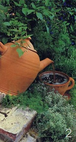 Фонтан - чайник и чашка