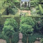 Оптические трюки для узких садов