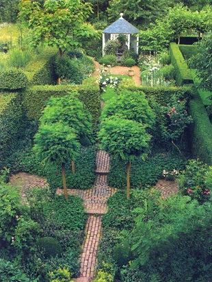 Зонирование сада
