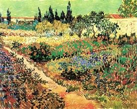Ван Гог - Цветущий сад