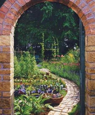 Идея для сада - арка
