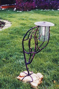 Садовый фонарь в стиле модерн